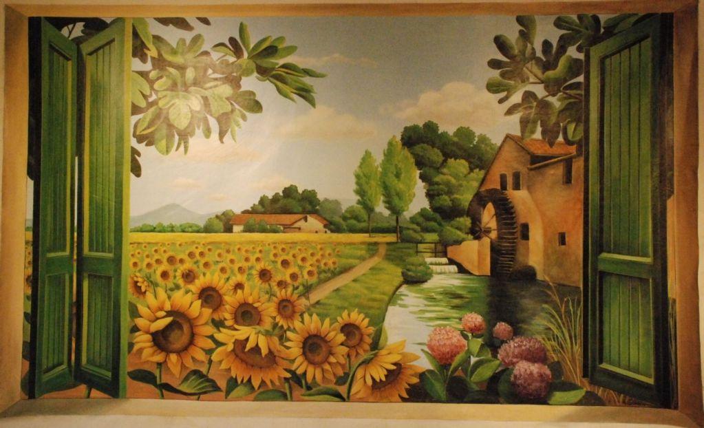 Arianna Colombo - Decorations, restoration, trompe l\'oeil, interior ...