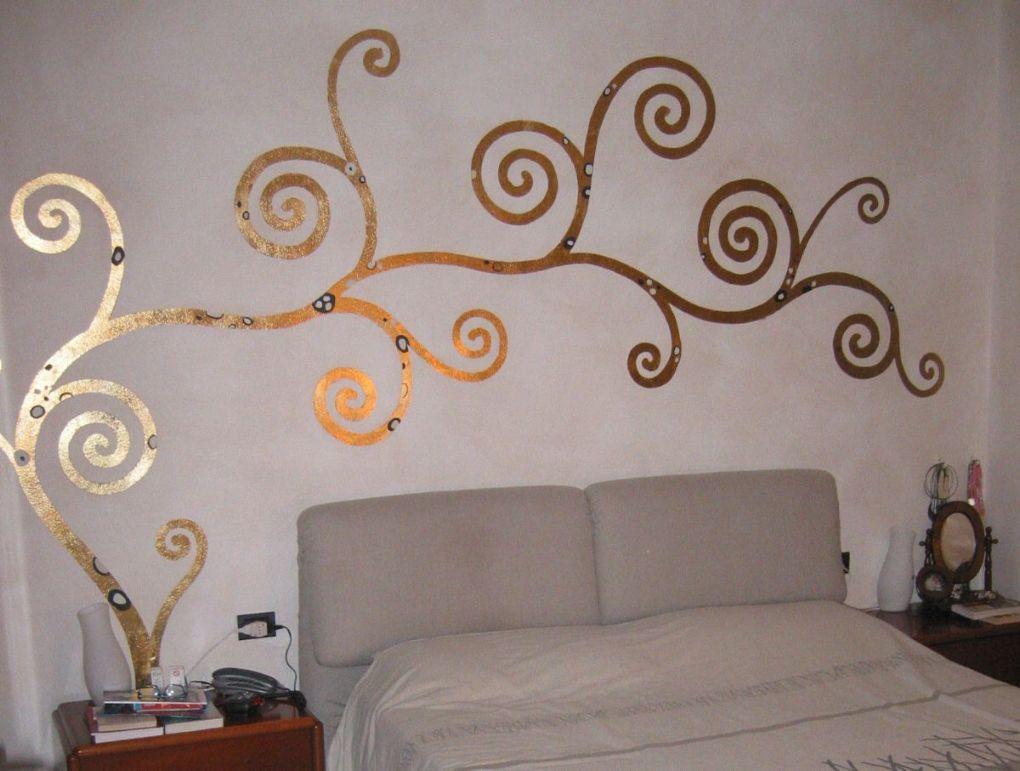 Arianna colombo decorations restoration trompe l 39 oeil - Camera da letto decorazioni murali ...